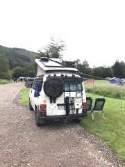 VW Camper - Glen Nevis