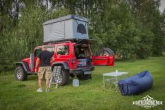 Camp norr om Riga.