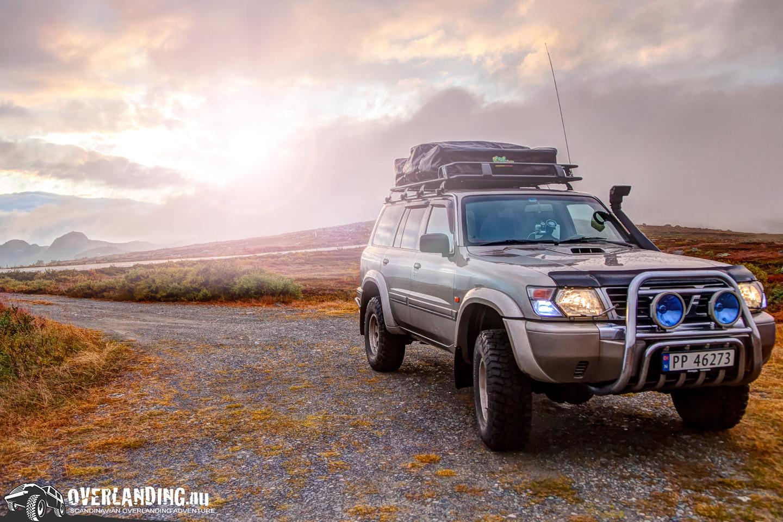 Overlanding: Resan till Gaustablikk och Rjukan (Norge)