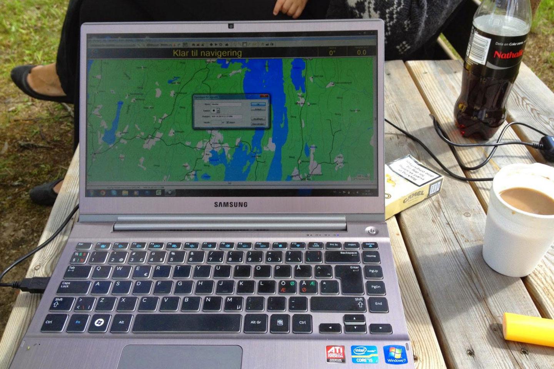 Utrustning: Garmin nRoute & Mapsource/ BaseCamp
