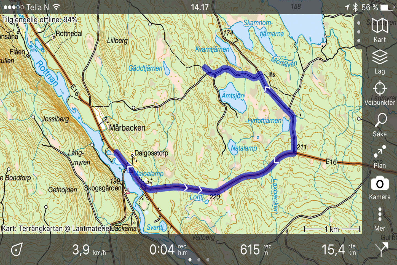 Test: Topo GPS en utmanare till ViewRanger