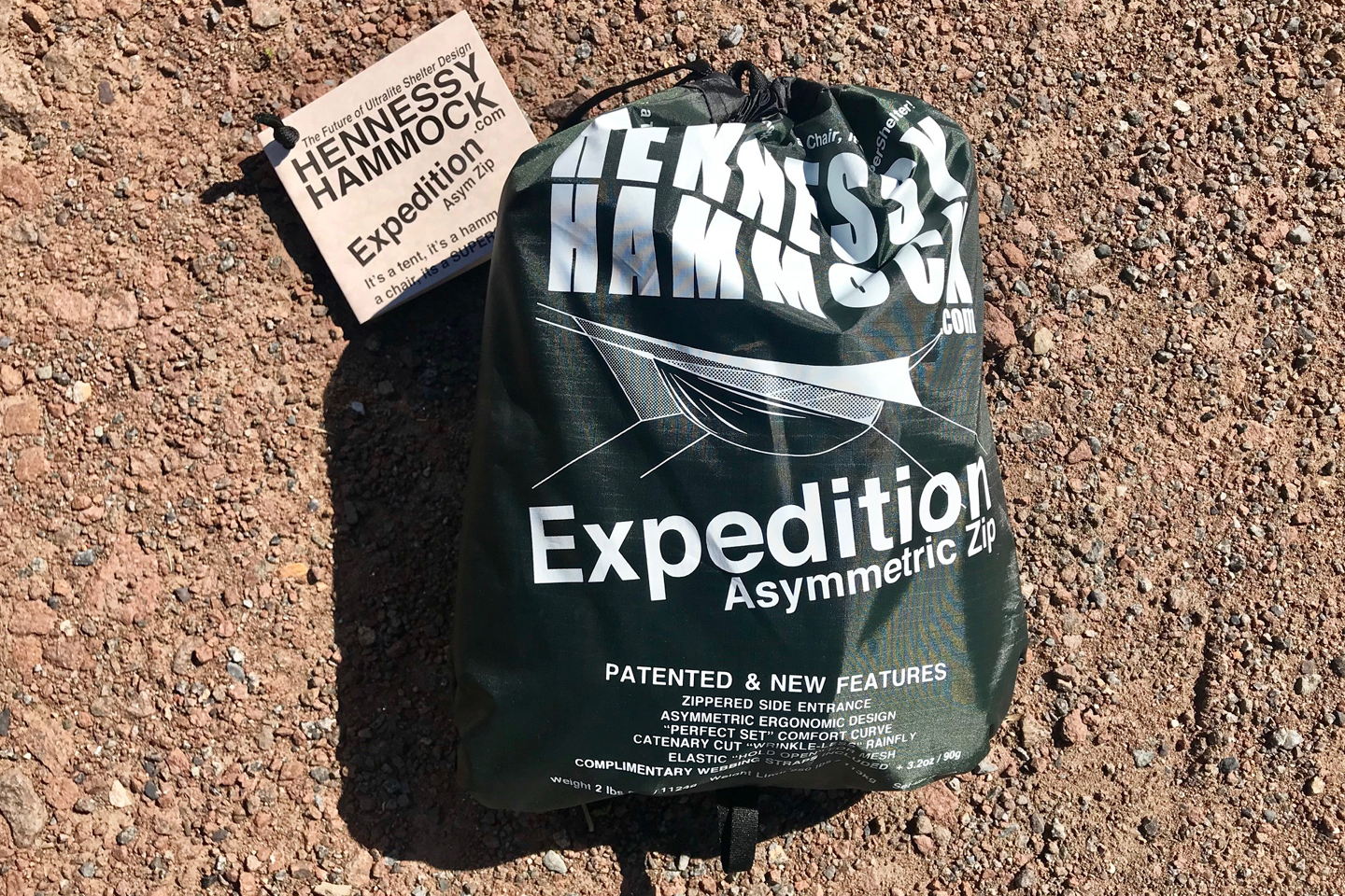 Test: Hennessy Hammock Expedition