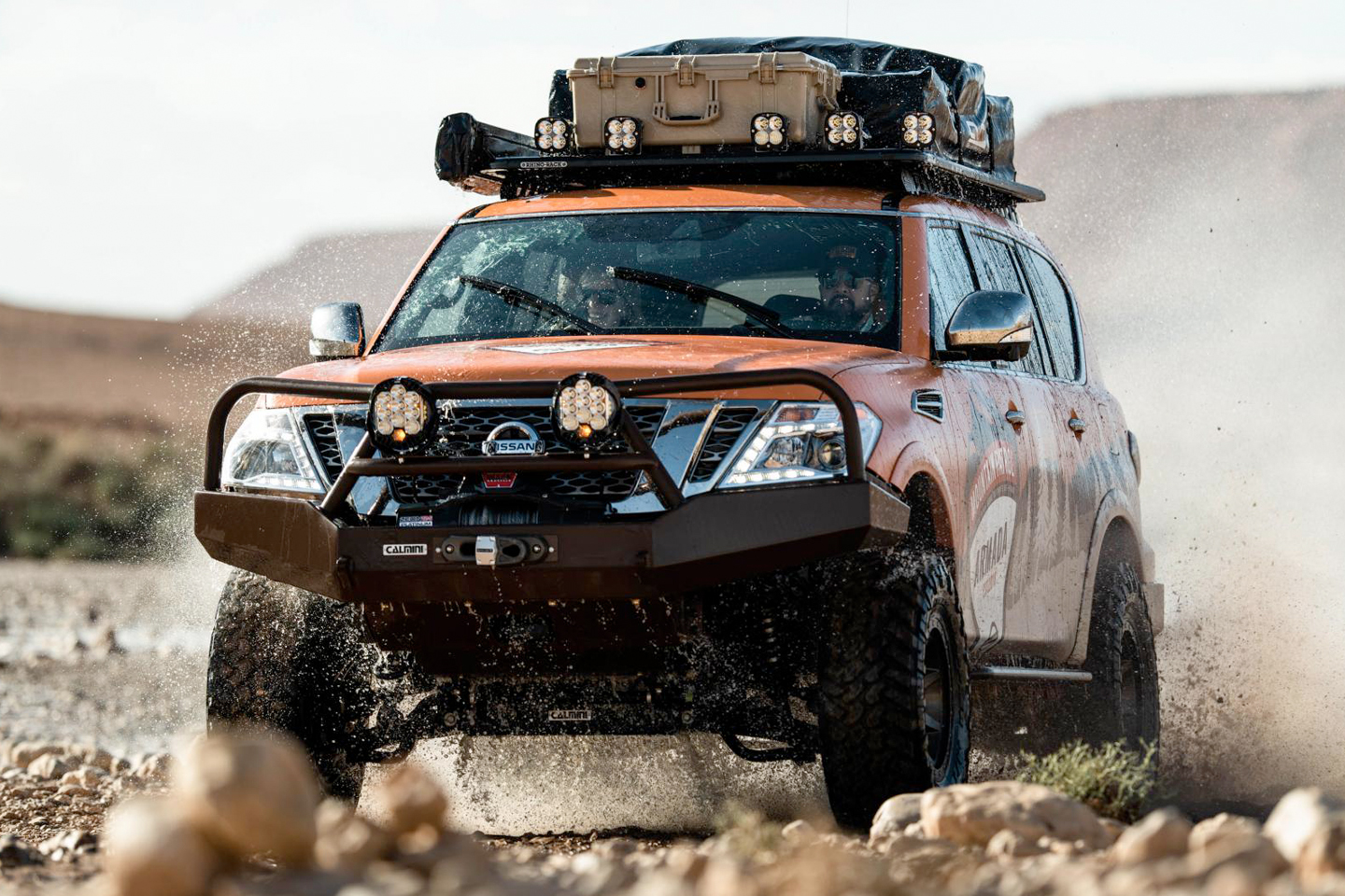Review: 2018 Nissan Armada Mountain Patrol