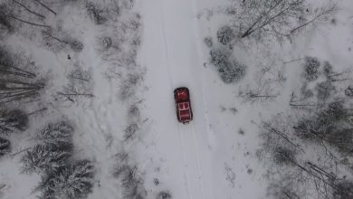 Photo of Video – Snökörning med Jeep JK