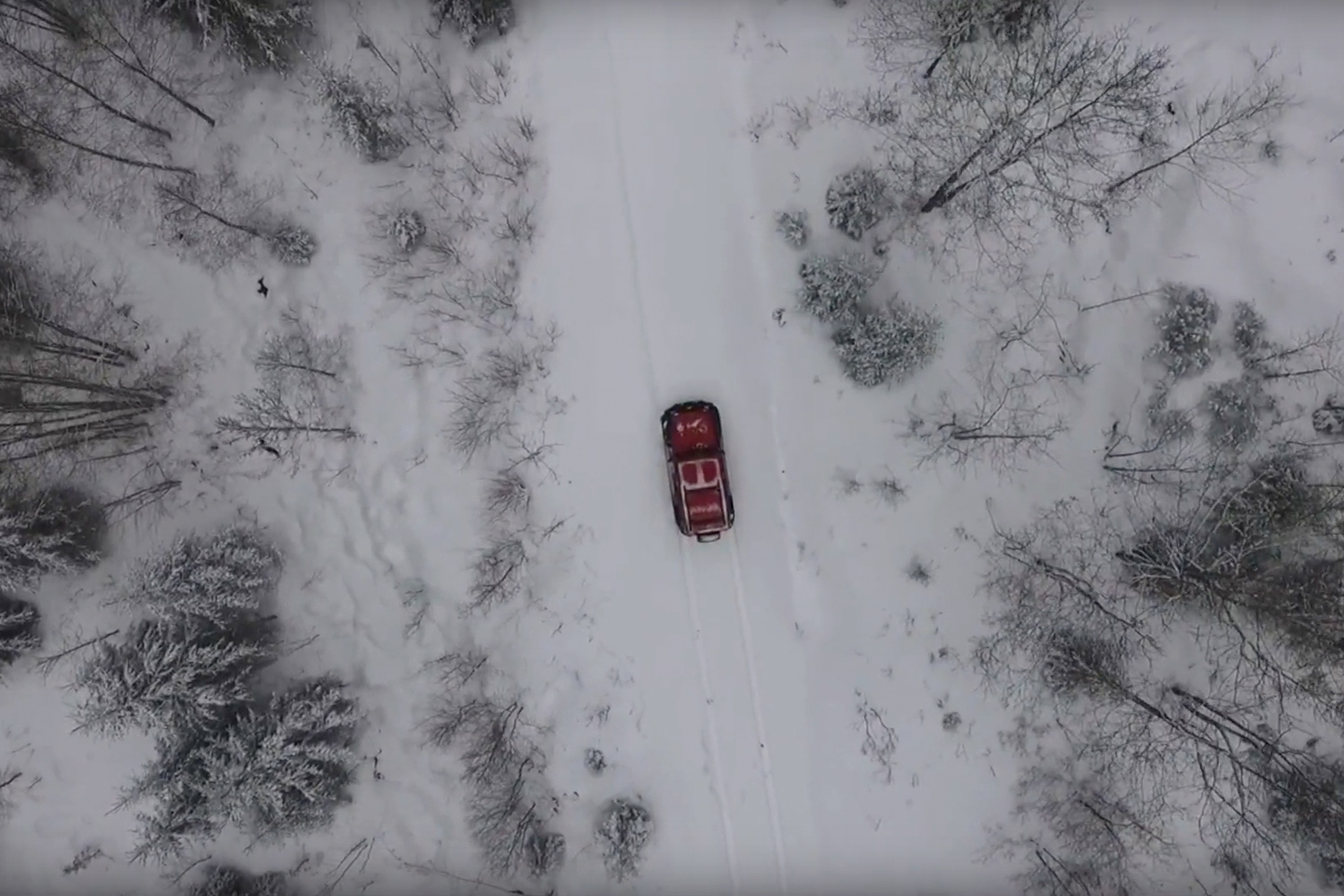 Video – Snökörning med Jeep JK